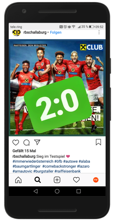 Instagram Raiffeisen