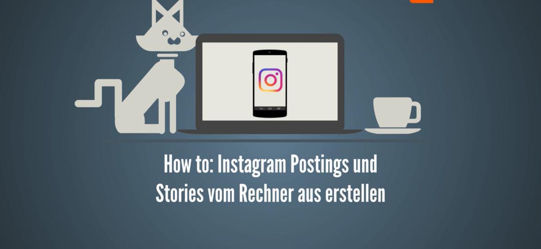 Instagram vom Desktop